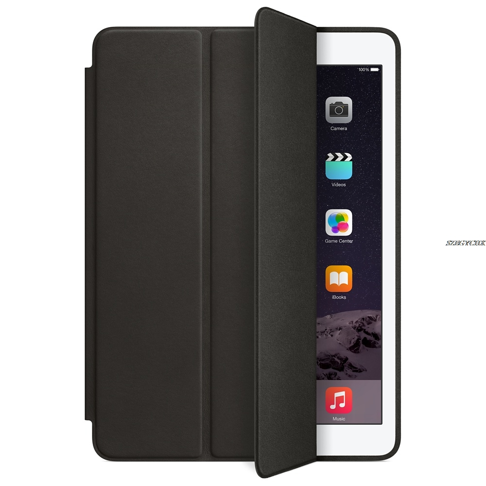 9.7 Inch Case For Ipad Air 2 Original 1:1 Magnet Smart Auto Sleep Stand Flip Leather Cover A1566 A1567 Shell With Logo