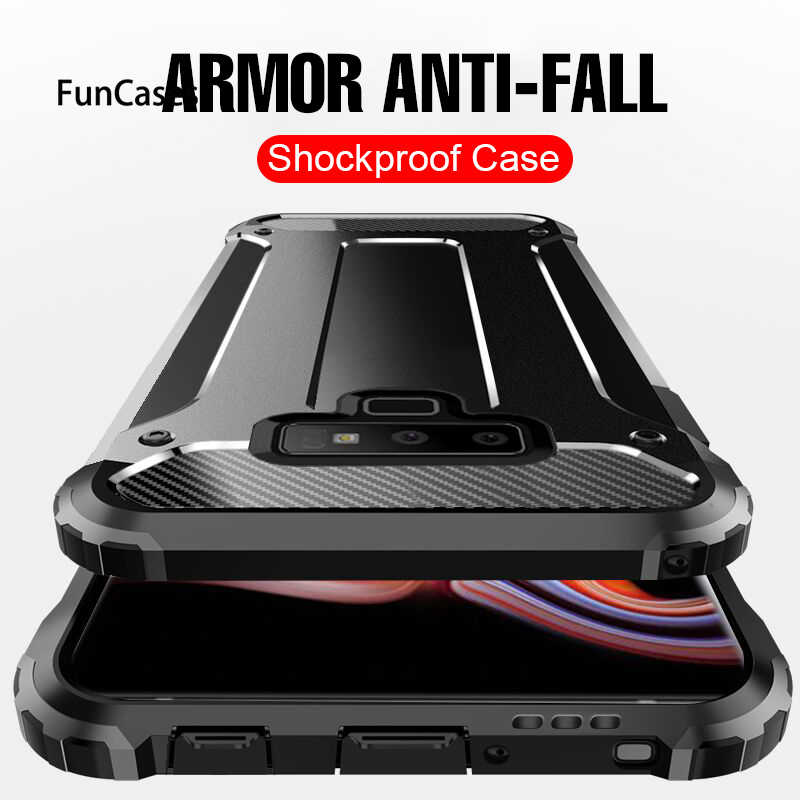 Luxury Anti-Fall Armor Case For Samsung Galaxy S7 Edge S8 S9 Plus Note 8 9 Phone Case Cover For S8 S9 Note 9 Shockproof Case