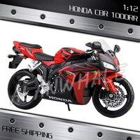 1:12 Scale HONGDA CBR 1000R Metal Diecast Model Motorcycle Motorbike Racing Cars Kids Boys Vehicle Moto GP Collection