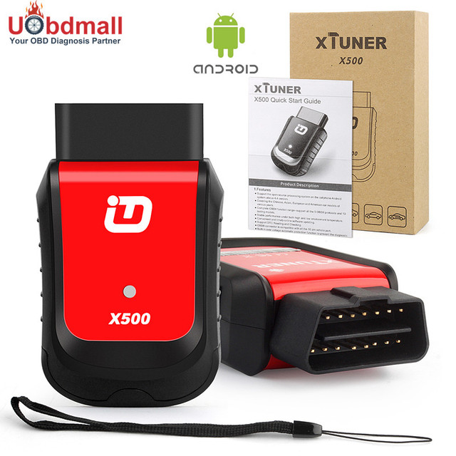 2017 Auto Diagnostic Tablet XTuner X500 Car Maintenance Tool For ABS Battery DPF EPB SRS TPMS IMMO Key Injector Reset