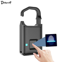 Fingerprint Lock Smart Door Lock Keyless Padlock for Home Luggage Dormitory Locker USB Charge electronic lock