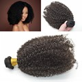 Brazilian Virgin Hair 4a/4b  Kinky Culry 1Bundle 100% Human Hair Weave Cheap Unprocessed Brazilian Afro Kinky Curly Virgin Hair