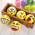Emoji Faces Squeeze Stress Ball Hand Wrist Finger Exercise Stress Relief Therapy - Assorted Style Toys For Children