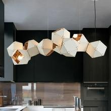 все цены на Modern LED chandelier Nordic suspended lamp loft deco lighting fixtures living room hanging lights bedroom pendant luminaires