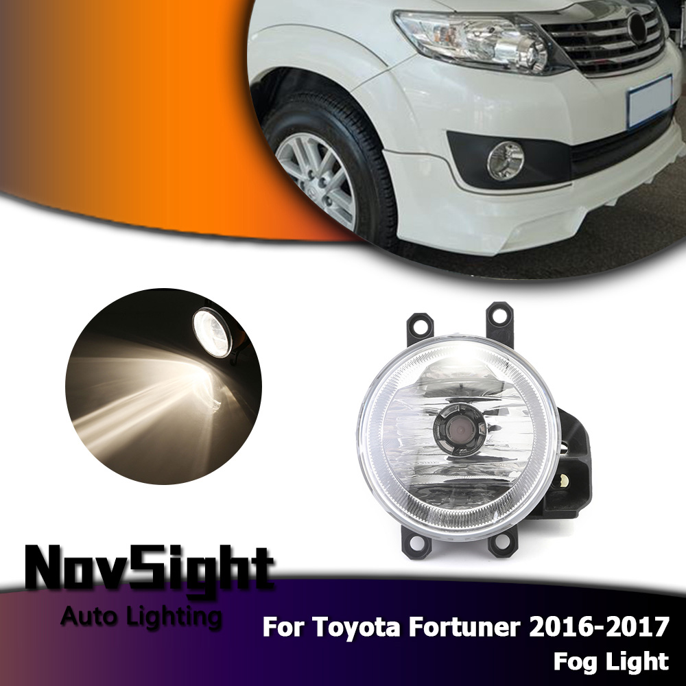 Novsight Auto Car Fog Lights Driving Lamp Assembly Halogen Bulbs Toyota Fortuner Fuse Box Location Package Includes 1 Pair Light Necessary Accessories As Shown In The Figure