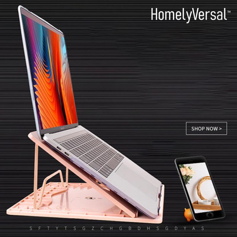 Laptop Stand Desktop Office For Lenovo Asus hp computer Lift Lazy Portable adjustable holder Macbook Cooler Vertical Base Seat