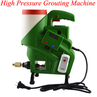 High Pressure Grouting Machine Waterproof Grouting Pump Mending Leakage 220V Electric High Pressure Grouting Plugging Machine