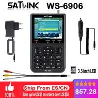 Genuine Satlink WS 6906 3 5 DVB S FTA Digital Satellite Meter Satellite Finder V8
