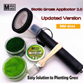 Миниатюрная модель сцены Materia Флокирование статическая трава аппликатор 2,0 моделирование хобби аксессуар для рукоделия