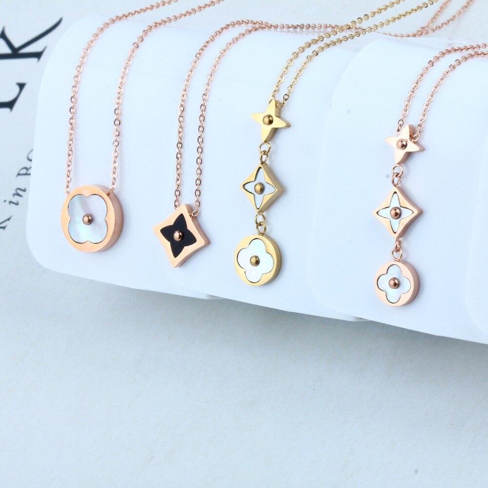 bddaba4e3b8e Moda cordones de cristal Collares ID mujeres elegante collar de cordón  moldeado ID badge titular joyería