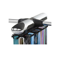 Automatic Tie Rack Electric Revolving Tie Racks Tie Hook Scarf Hanger Rack Organizer Belt Rack