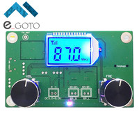 FM Radio Receiver Module Frequency Modulation Stereo Receiving PCB Circuit Board With Silencing LCD Display 3