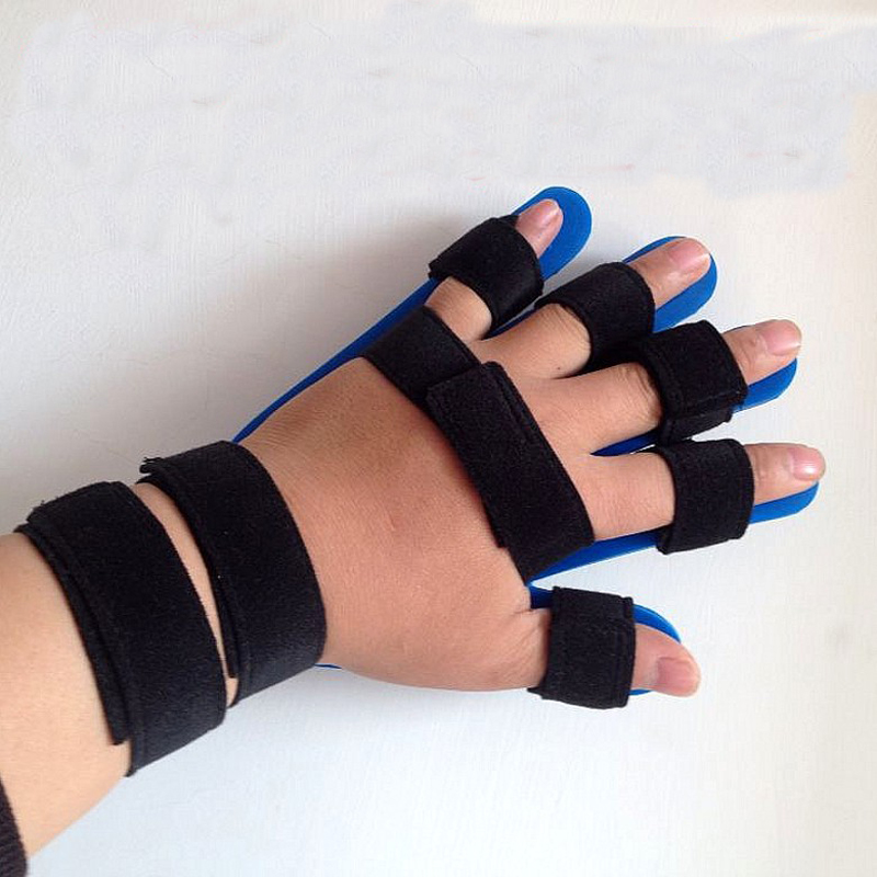 1 pc Extension conseil attelle apoplexie hémiplégie gauche droite poignet orthèse séparée doigt Flex spasme hommes femmes