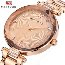 MINIFOCUS 2017 Fashion Women Watches Famous Brand Quartz Watch Ladies Wrist Watch Female Clock Montre Femme Relogio Feminino
