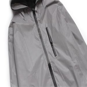 Image 5 - Uplzcoo full reflective jacket men/women harajuku windbreaker jackets hooded hip hop streetwear night shiny zipper coats JA244