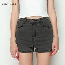 Высокое качество! Лето 2016 женщин Высокая талия джинсовые шорты женские Короткие джинсы 3 цвета(China (Mainland))