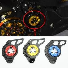 3 Цвета Мотоцикла Скутер Передней Звездочки Крышка Панели Левого Двигателя Гвардии Цепи Обложка Защиты Для Honda 2014-2015 MSX125 Grom