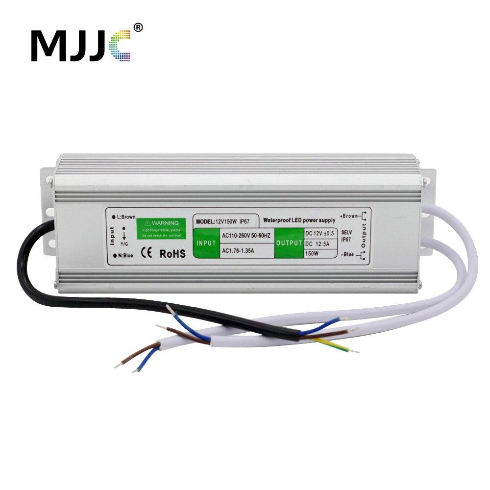 12V 24V <font><b>LED</b></font> Power Supply Unit Driver Electronic Transformer AC 110V <font><b>220V</b></font> to 12 24 Volt 10W 30W 36W 60W 100W <font><b>150W</b></font> Waterproof IP67