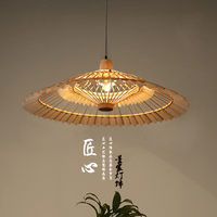 Chinese style bamboo chandelier, Chinese style antique umbrella, Cape LED Chandelier