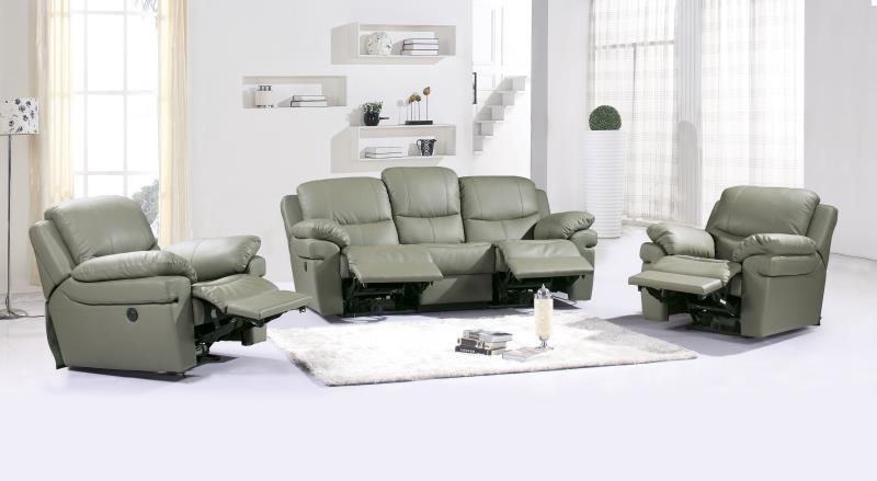 JIXINGE Ultra Strong, Recliner Sofa, Genuine Leather Recliner Sofa, Cinema Leather Recliner Sofa