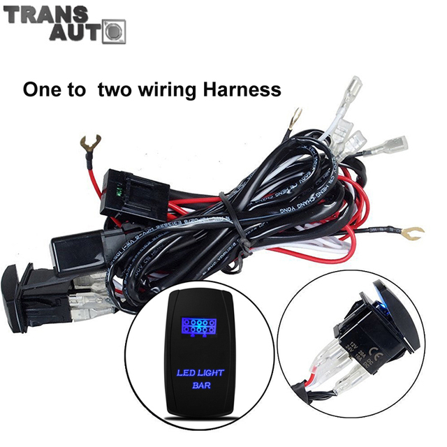 Universal car wiring harness Kit Loom one to two Fuse Relay Led Light Bar Switch Relay_640x640 universal car wiring harness on universal download wirning diagrams universal automotive wiring harness at bayanpartner.co