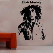 Marley one love sticker reggae music mural vinyl wall decal detachable poster home art design decoration 2YY1