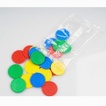 10 20 50 100 wartość monety 32 sztuk zestaw żetony do pokera plastikowe okrągłe biodra tanie i dobre opinie CM121211 plastic