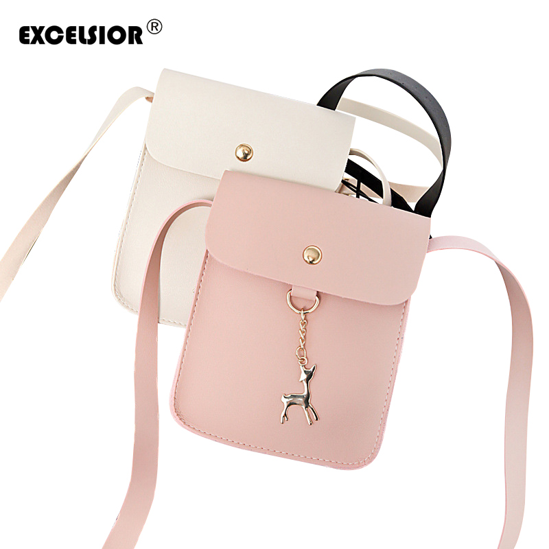 EXCELSIOR Shoulder Crossbody Bags For Women Leather Luxury Handbags Mini Women Messenger Bags Designer Famous Brands Sac a Main zooler luxury handbags women bags designer genuine leather shoulder bags famous brands crossbody messenger bag ladies sac a main