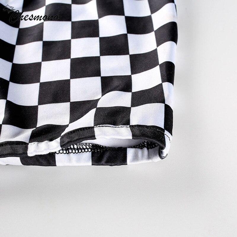 HTB1emr5XcuYBuNkSmRyq6AA3pXa8 - FREE SHIPPING Black&White Plaid Sexy Strapless slim Tube Top Checkboard JKP393