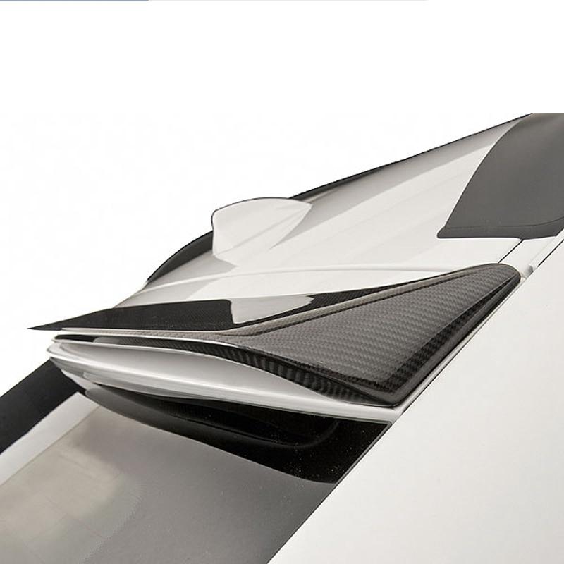 цена на X6 E71 Carbon Fiber Rear Roof Spoiler Lid For BMW X6 E71 Luxury SUV 2008 - 2013 Back Window
