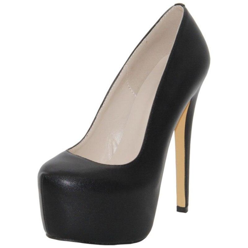 042e7b417 De Plataforma ÁguaO sapatos Americano Prova PlutônioEstilo E À D' Alto Do  Salto Couro Europeu Themost Alta thxdsCBQr