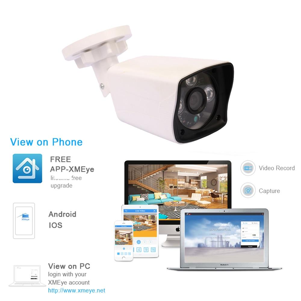 Купить с кэшбэком YiiSPO 2.0MP 1080P HD POE IP Camera infrared security camera  IR-CUT good Night Vision P2P onvif waterproof Xmeye iphone view