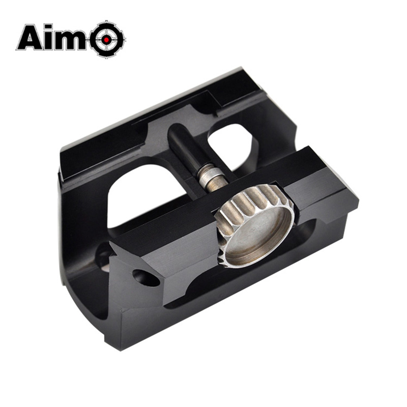 Aim O Low Drag Scope Mount for Red Dot Sights T one&T Two Fit For 20mm Picatinny Rails