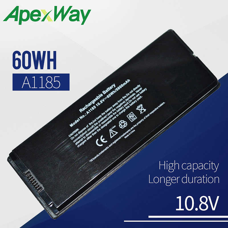 "60WH 10,8 v Аккумулятор для ноутбука APPLE MacBook 13 ""A1181 MA472 MA701 661-4703 A1185 MA561 MA561FE MA561G/MA561J/MA561LL/A"