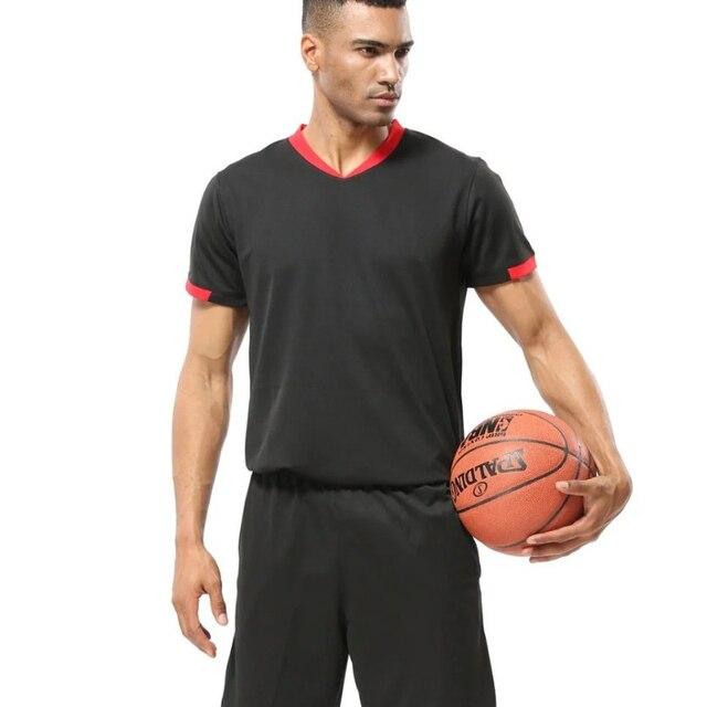 a24d9427d483 Cheap Mens Basketball Jersey Breathable College Sport Team Basketball T  Shirt Short Sleeve Training T-shirts