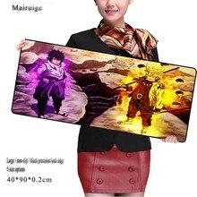 Mairuige Naruto Large 900*400mm Speed Keyboard Mat Cartoon Mousepad Gaming  Desk for CSGO DOTA2 Game Player Free Shipping