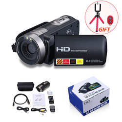 HD Digital Camera Professional 16X Zoom Digital Video Camera Camcorder Photo DSLR Camera DV 3.0