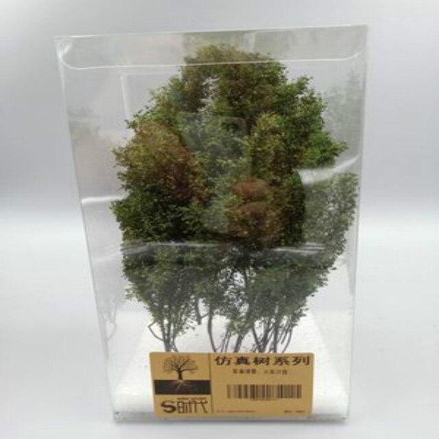 Model Building Tree Simulation Vegetation Train Railway Military Scene Sand Table Model DIY Material