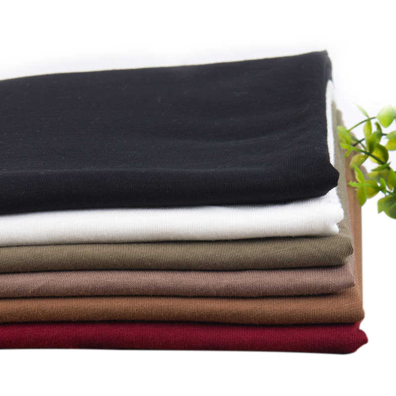Xintianji new Combed cotton fabric for summer t shirts soft & breathable thin fabric good for t shirt 50*160cm A0243