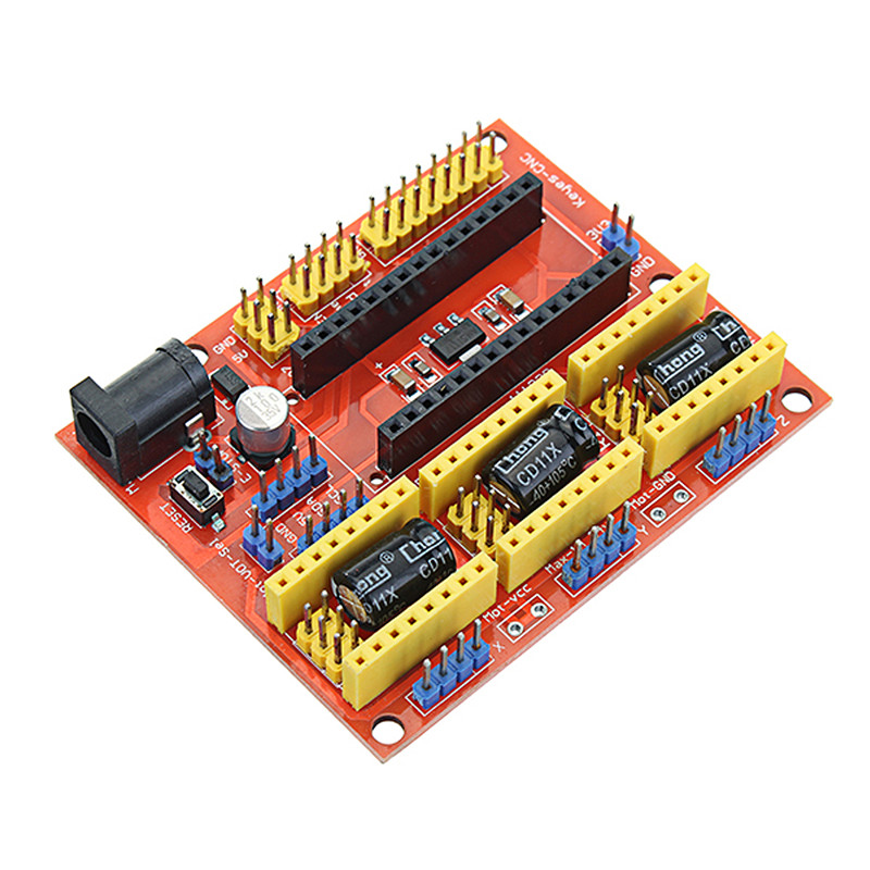 Nd New Cnc Shield V 0 Board A4988 3 Axis Stepper Motor Driver 1pc Usb Cable For Arduino