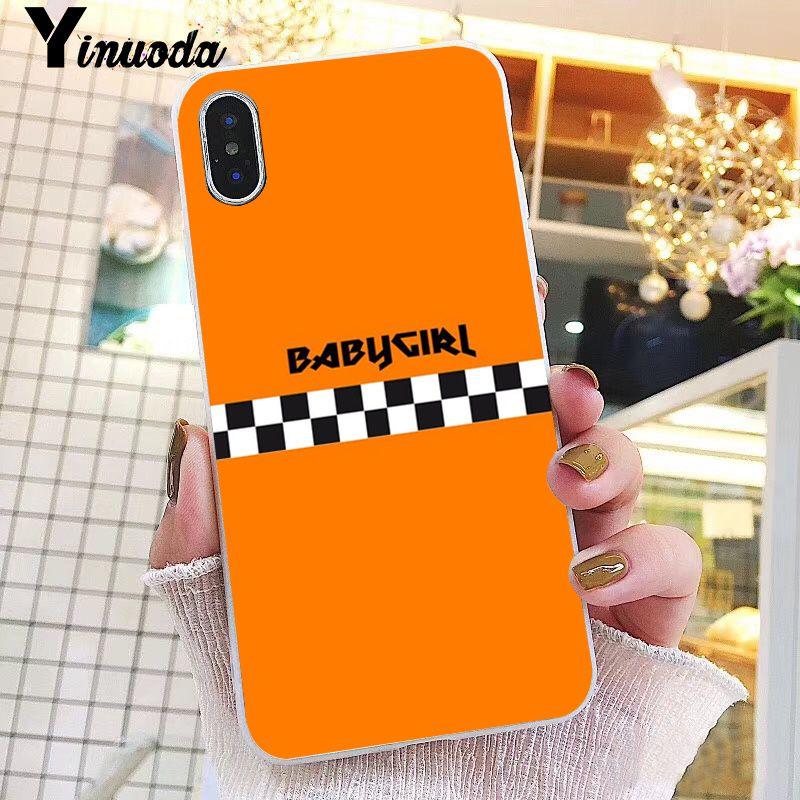 e1c29cba1e Yinuoda Babe babygirl honey line Text art Custom Photo Phone Case Cover for  iPhone X XS MAX 6 6s 7 7plus 8 8Plus 5 5S SE XR 10