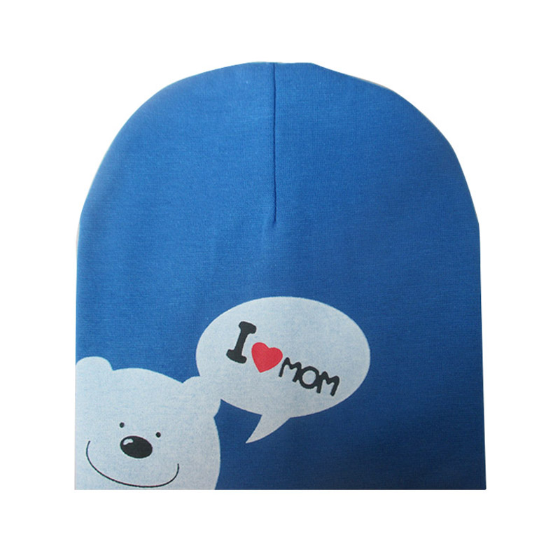 c5d423b71d886 I LOVE MOM/DAD Cartoon Bear Knitted Cotton Beanie Cap Cute Baby Hat Warm  Spring Autumn Hats Caps for 0.5 3years old children-in Skullies & Beanies  from ...