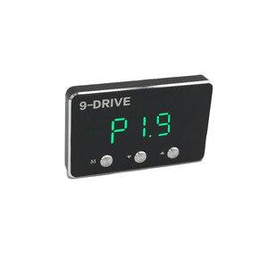 Image 2 - Schwarz auto gas geschwindigkeit erhöhen Starke booster qualifizierte Auto pedal controller für toyota hilux reiz mark X landcruiser prado