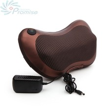 GPYOJA Digital Therapy Machine Massage Pillow Shiatsu Infrared Electric Massager for Back Body Neck Pain Relief Home Car Use