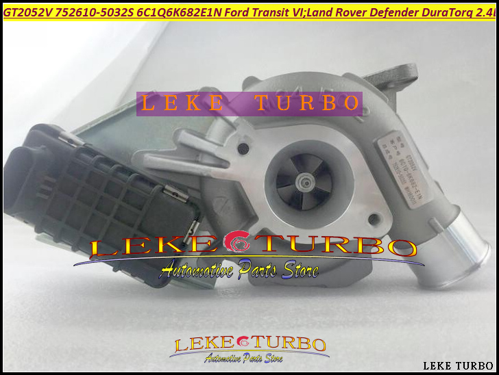 Turbo GT2052V 752610 752610-0012 752610-0025 752610-0029 1355066 1219310 For Land Rover Defender Transit VI DuraTorq 2.4L TDCi  цены