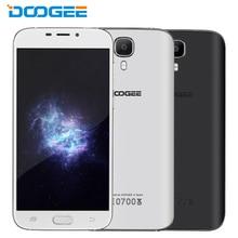 Original doogee x9 3g rom del teléfono móvil 16 gb ram 1 gb mtk6580 Quad Core de 5.5 pulgadas Cámara de 8MP Dual SIM Android 6.0 Smartphone