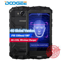 "Doogee S60 Lite IP68 Waterpoof Mobiele Telefoon 5580 Mah 5.2 ""Fhd 4 Gb + 32 Gb MT6750T Octa- core 16MP Draadloze Oplader Android Smartphone(China)"
