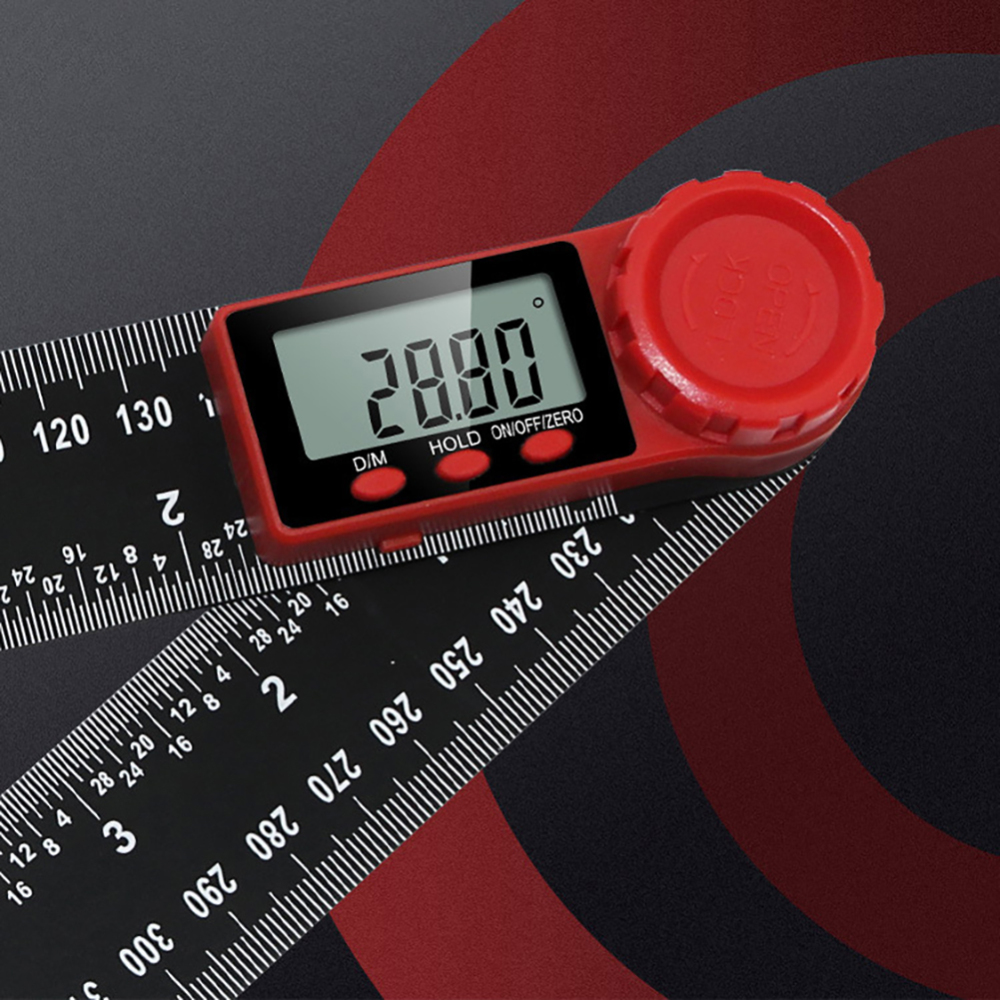 200mm Digital Angle Ruler Inclinometer Electron Goniometer Protractor scale electronic goniometer protractor angle detector