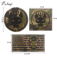 Pulaqi SEAL TEAM/DEVGRU TACTICAL Military Magic Patch Appliques Stripes Fabric Velcro Patches For Clothing National Flag Badges pulaqi camo seal team velcros patch army military magic patch stripes fabric navy seals patches for clothing badges appliques
