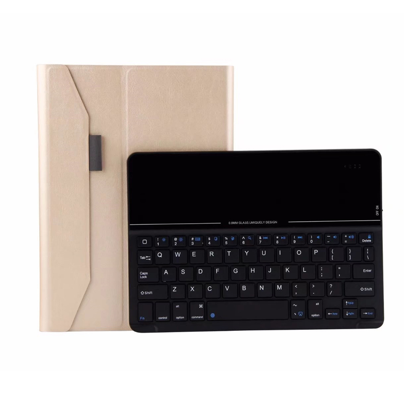 Wireless Bluetooth Keyboard for iPad 9.7 New 2017 2018 A1822 A1823 Slim Case Cover for iPad 5 / 6 / Air / Air 2 / Pro 9.7